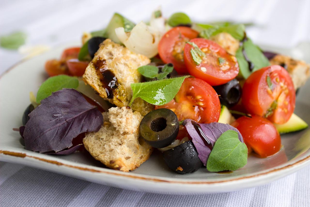 Der vegane, gesunde Teller