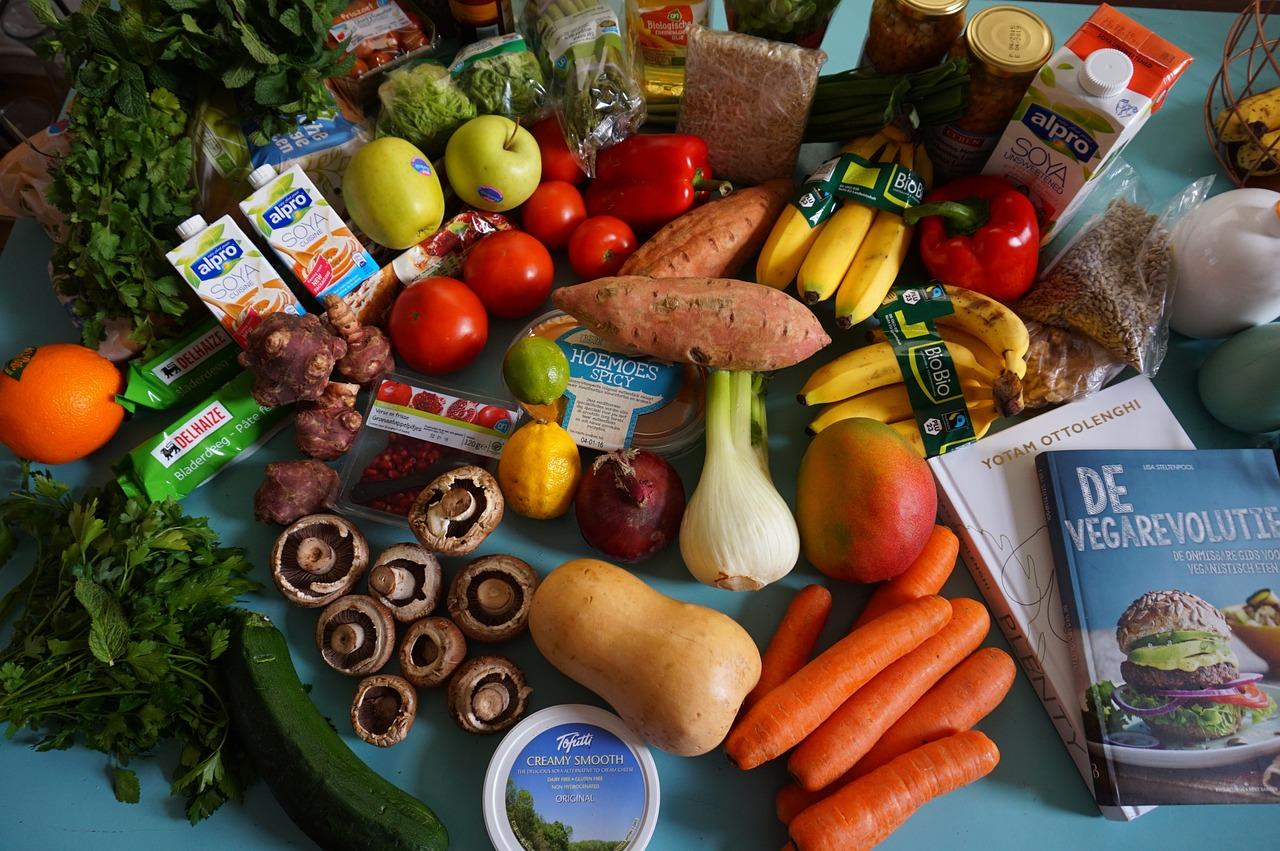groceries, fruit, vegan